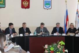 Вел заседание мэр города Евгений Коростелев