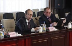 Александр Левинталь провел переговоры в Китае