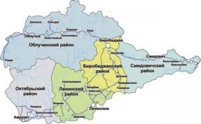 Карта ЕАО