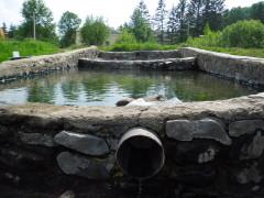 Открытый минеральный источник в Кульдуре