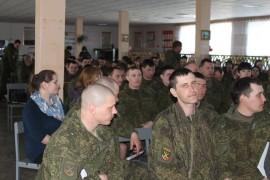 Военносдужащих познакомили с историей ЕАО (2)