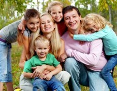 Замещающая семья - радость общения