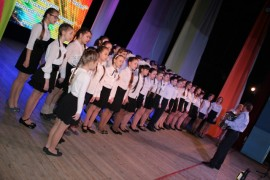 Згаменитый академический хор школы№11 (2)