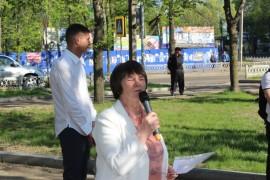 Член Союза писателей России поэтесса Тамара Сафарова
