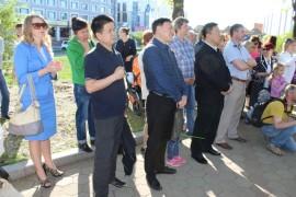 День 70-летия улицы Шолом-Алейхема отметили в Биробиджане (4)