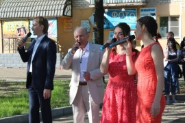 День 70-летия улицы Шолом-Алейхема отметили в Биробиджане (7)