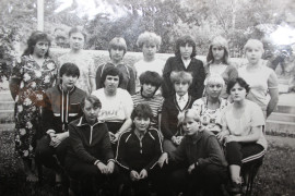 1984г. лагерь имени Бонивура.
