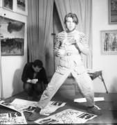 1990 год Один из отцов-основателей творческого обьединения молодежи города Цех пролетарского авангарда Игорь Фефелов Фото Б.Косвинцева