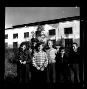 Биробиджан 1962 год Улица Пожарского За нами корпус завода силовых трансфоматоров. На этом месте сейчас Областной архив.