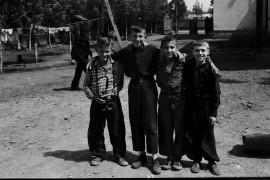 Биробиджан Начало шестидесятых Пацаны с Шолом Алейхема 48 Фото Ю.Косвинцева