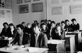 Биробиджан Восьмидесятые На уроке в шк№1 Фото Ю.Косвинцева