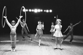 Детская цирковая студия Счастливое детство з-д Дальсельмаш  80 годы