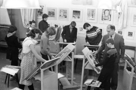 Художественная студия Дома пионеров 80 годы