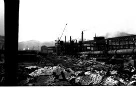 Строительство Теплоозерского цемзавода Пятидесятые Фото Ю.Косвинцева