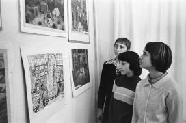 Выставка Детской худ.школы 80 годы