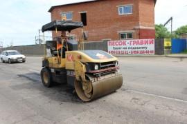Ямочный ремонт возобновился в Биробиджане после продолжительных дождей (12)