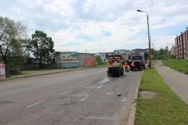 Ямочный ремонт возобновился в Биробиджане после продолжительных дождей (16)
