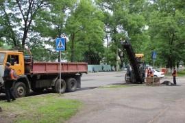 Ямочный ремонт возобновился в Биробиджане после продолжительных дождей (21)