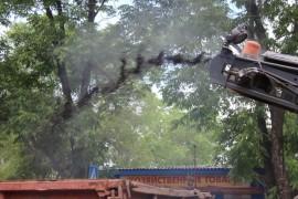 Ямочный ремонт возобновился в Биробиджане после продолжительных дождей (24)