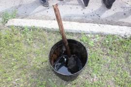 Ямочный ремонт возобновился в Биробиджане после продолжительных дождей (5)