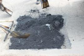 Ямочный ремонт возобновился в Биробиджане после продолжительных дождей (6)