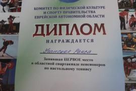 Легенда биробиджанского тенниса Раиса Учанская (9)