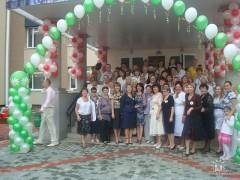 Открытие нового здания школы №1.