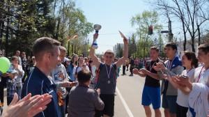 Победа в эстафете 2014г.