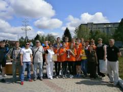 Победа в эстафете,посвященной Дню пограничника 2012г.