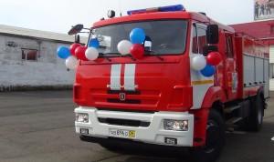 В пожарную часть Биробиджана поступила новая современная техника (2)