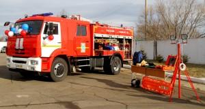 В пожарную часть Биробиджана поступила новая современная техника (3)