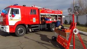 В пожарную часть Биробиджана поступила новая современная техника (4)