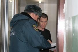 Пожарный надзор совместно с представителями газовой службы провели рейд по многоквартирным домам (1)