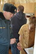 Пожарный надзор совместно с представителями газовой службы провели рейд по многоквартирным домам