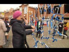 Проблемам детей с аутизмом посвятили акцию на биробиджанском Арбате