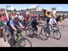 """Более 7 км """"намотали"""" во время велопробега студенты и педагоги базового вуза ЕАО"""