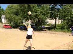 Турниром по пляжному волейболу открыли сезон биробиджанские спортсмены