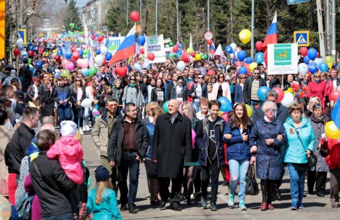 День Весны и Труда широко празднуют в ЕАО