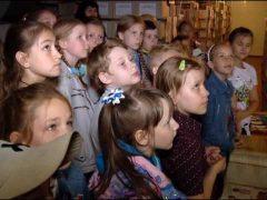 Урок истории провели для учеников ДМШ Биробиджана в Госархиве ЕАО