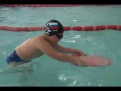 Соревнования юных пловцов стартовали в Биробиджане