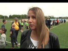 """Команды летних школьных лагерей сошлись в схватке на стадионе """"Дружба"""" Биробиджана"""