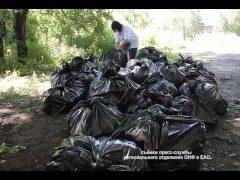 """""""Генеральную уборку"""" провели активисты ОНФ в центре Биробиджана"""