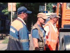 Ветхие коммуникации не выдержали нагрузки и привели к порыву на водоводе в Биробиджане