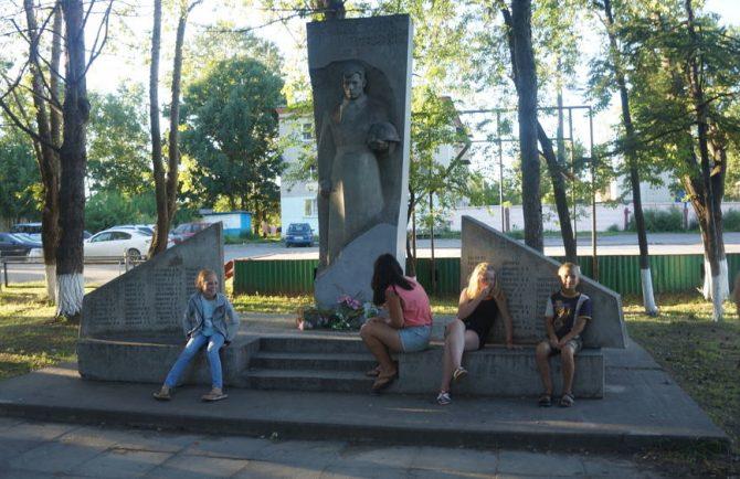 Остановить строительство магазина на территории мемориала просят жители п. Николаевка ЕАО