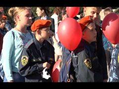 Сотни воздушных шаров запустили в небо День мира в Биробиджане