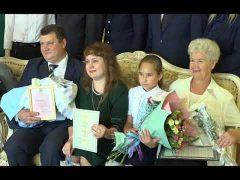 Многодетную семью Турбиных с рождением третьего малыша поздравили главы ЕАО и Биробиджана