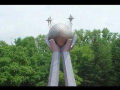 К юбилею Биробиджана: площадь Дружбы