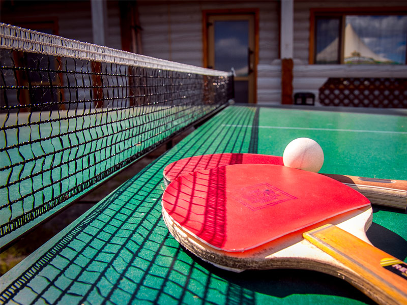 tennis and table tennis