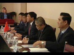 План обмена делегациями между Биробиджаном и г.Ичунь КНР подписали в мэрии