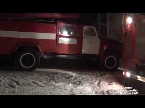 Пожар вспыхнул в подвале жилого дома в п.Теплоозерск в воскресенье, 21 января